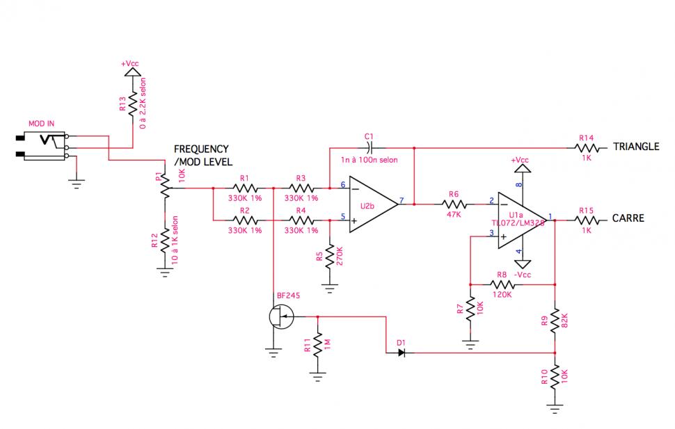 Prinsta Voltage Controlled Oscillator (VCO)