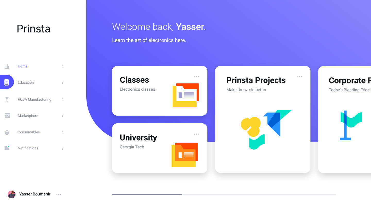 Prinsta's Education Dashboard
